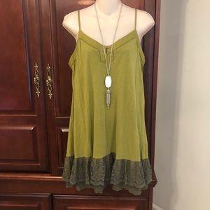 Lucky size medium gorgeous spaghetti strap dress
